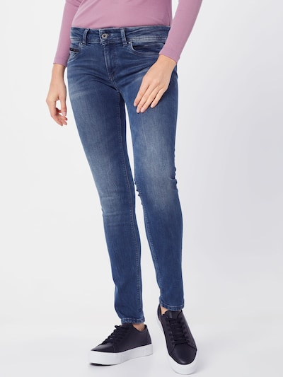 Pepe Jeans Jeans 'New Brooke' in blue denim: Frontalansicht