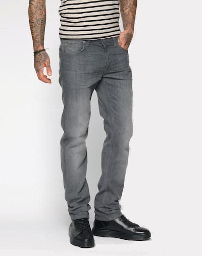 Lee Straight Leg Jeans 'Daren' in grey denim, Modelansicht