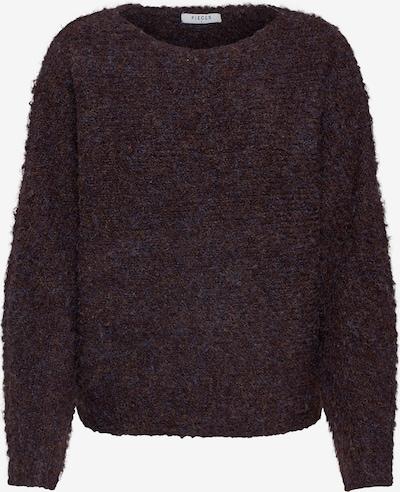 PIECES Pullover in braun, Produktansicht