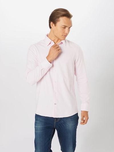 BURTON MENSWEAR LONDON Hemd in pastellpink: Frontalansicht