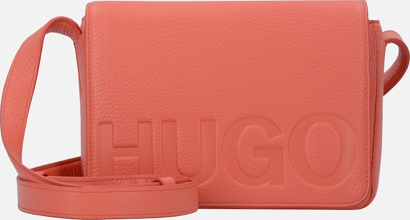 HUGO Mayfair Mini Bag Umhängetasche Leder 20 cm