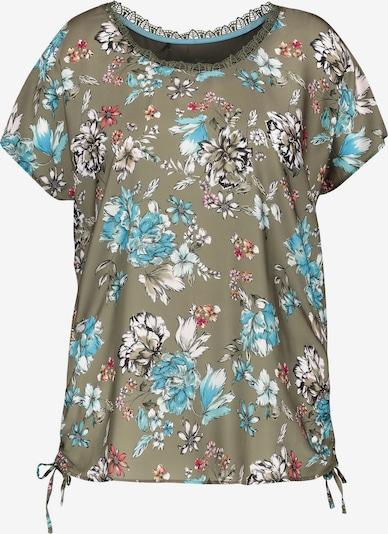 SAMOON T-Shirt in khaki / mischfarben, Produktansicht