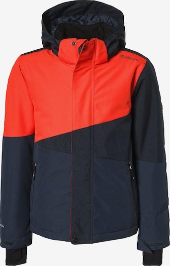 BRUNOTTI Skijacke 'Idaho' in nachtblau / enzian / rot, Produktansicht