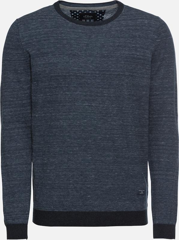 Red En S oliver Nuit Label Bleu over Pull 'pullover' 45qAj3RL