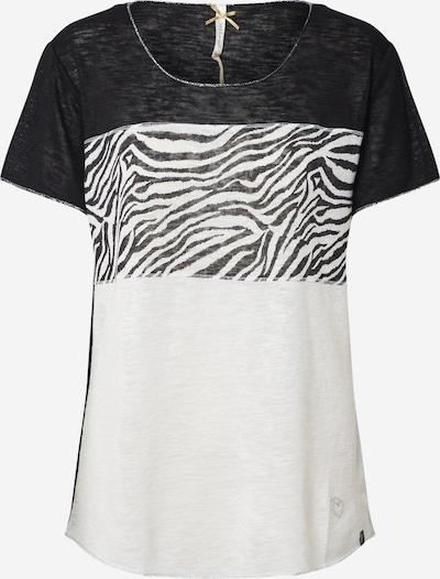 Key Largo T-shirt en gris / noir / blanc cassé, Vue avec produit
