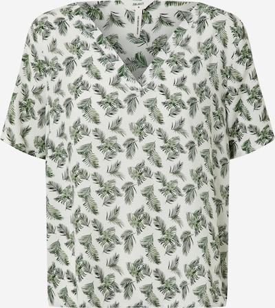 OBJECT Majica 'OBJCELESTE BAY S/S TOP 109' | bela barva, Prikaz izdelka