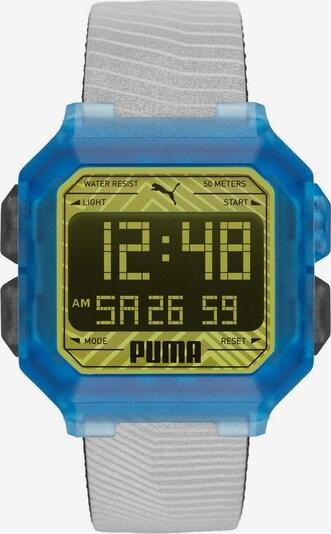 PUMA PUMA Quarzuhr »REMIX, P5038« in aqua / hellgrau, Produktansicht