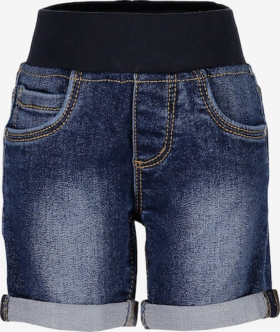BLUE SEVEN Jeansshorts in dunkelblau, Produktansicht