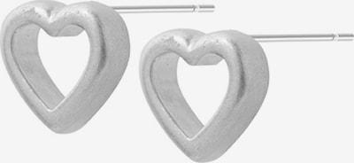 Sence Copenhagen Ohrstecker 'Herz' in silber, Produktansicht
