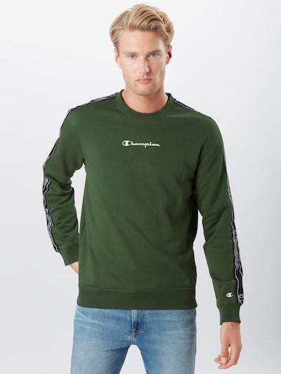 Champion Authentic Athletic Apparel Mikina - zelený melír / černá / bílá: Pohled zepředu