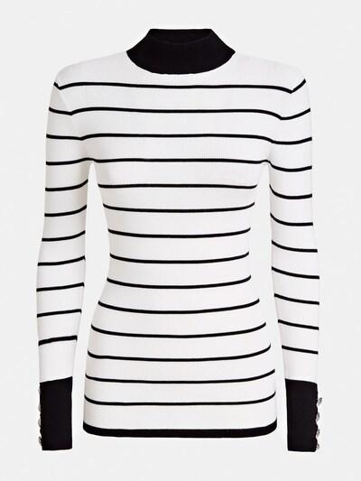 GUESS Pullover in schwarz / weiß, Produktansicht