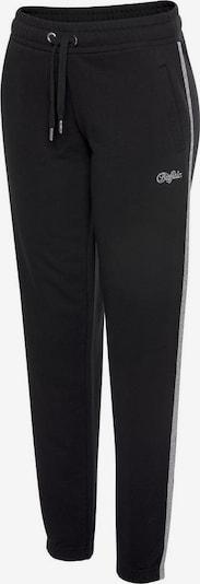 BUFFALO Sweathose »Buffalo Stars« in schwarz / silber, Produktansicht
