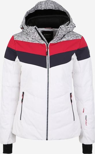 CMP Sport-Jacke in dunkelgrau / rot / weiß, Produktansicht