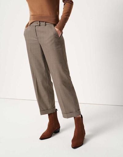 Someday 7/8 Hosen in braun, Produktansicht