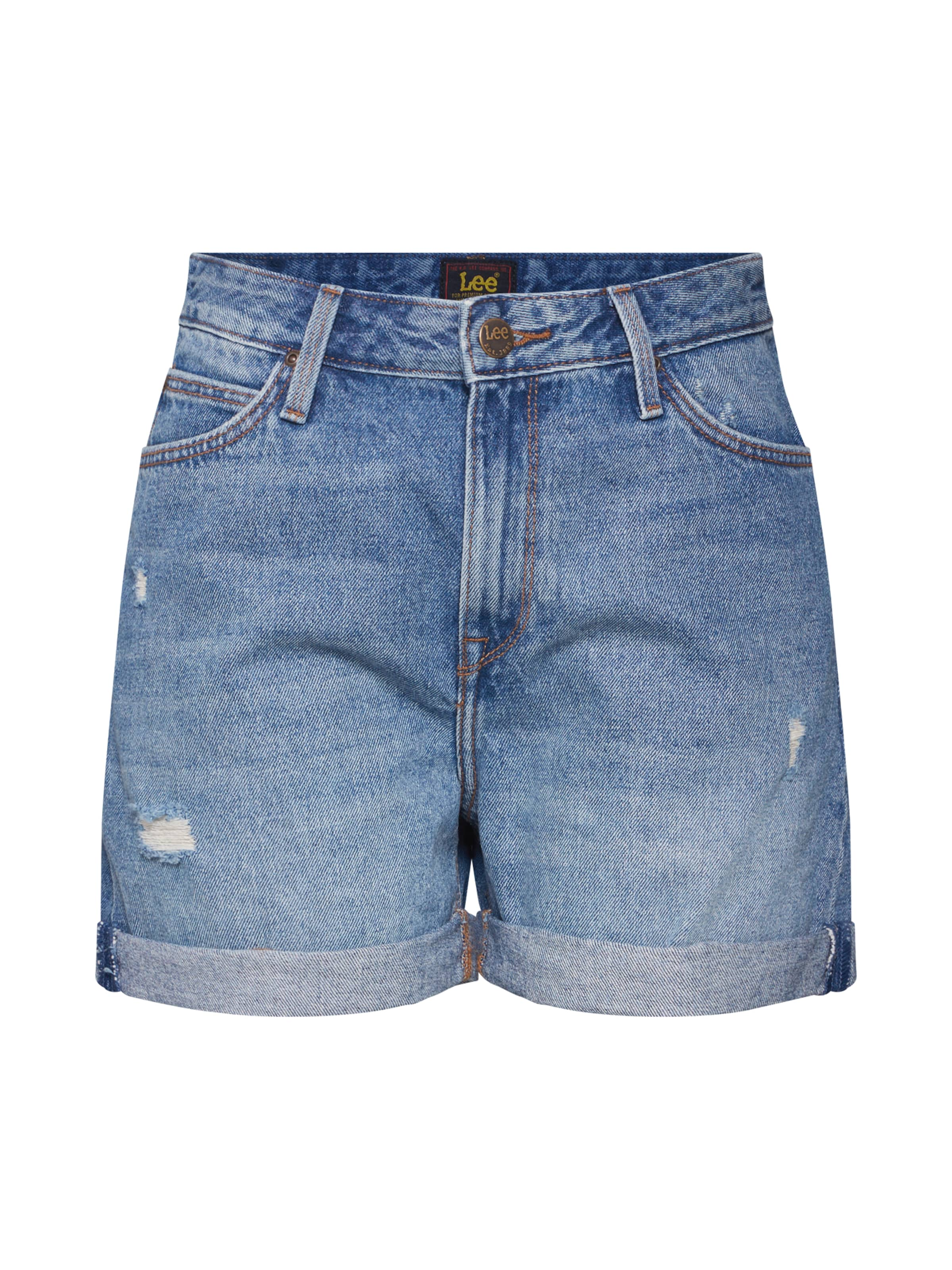 Lee Denim In Short Blue Jeans H9I2eWEbDY