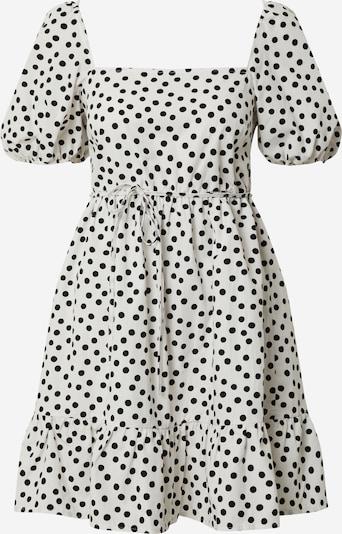 Miss Selfridge Robe d'été 'IVORY SPOT POP SMOCK' en ivoire / noir, Vue avec produit