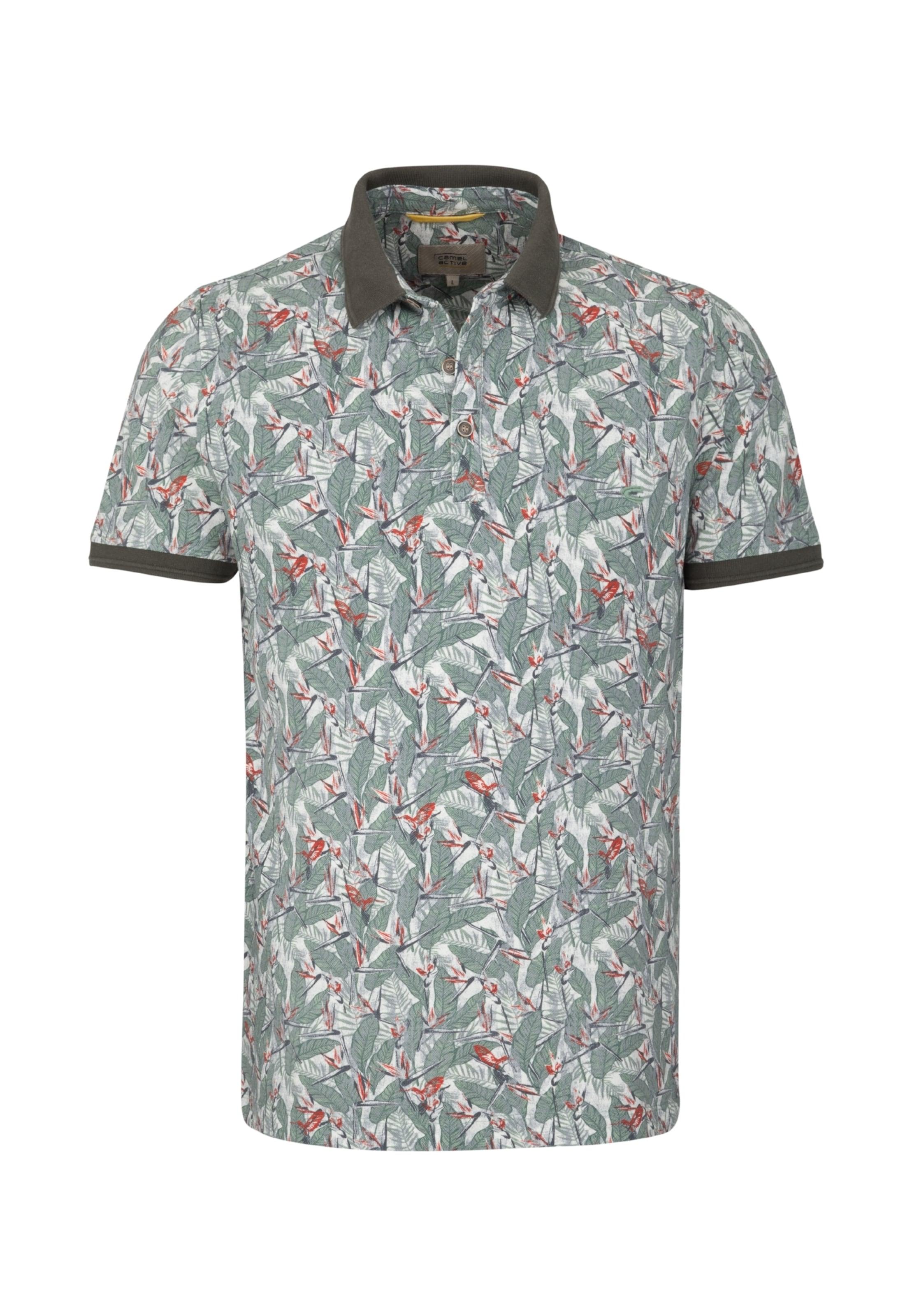 shirt Chiné Active T Camel VertRouge En Rouille Blanc E2IeDH9YbW