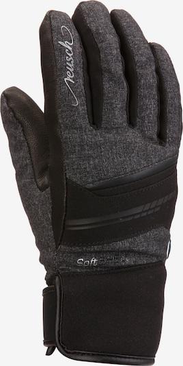 REUSCH Handschuh 'Tomke' in grau / schwarz / weiß, Produktansicht