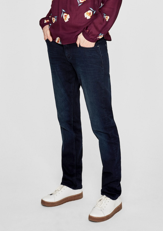 s.Oliver RED LABEL Smart Straight: Colored Denim