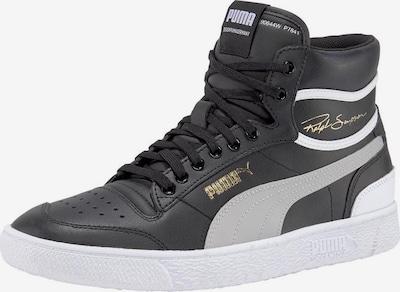 PUMA Sneakers hoog 'Ralph Sampson' in de kleur Lichtgrijs / Zwart / Wit, Productweergave