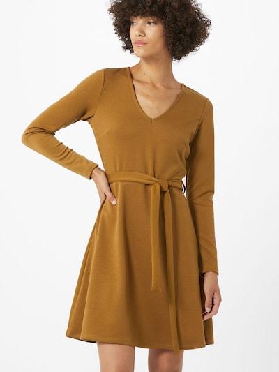 OBJECT Kleid 'SAVA' in karamell, Modelansicht