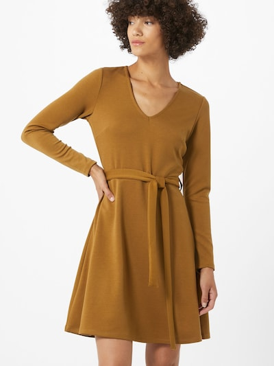 OBJECT Kleid 'SAVA' in karamell: Frontalansicht