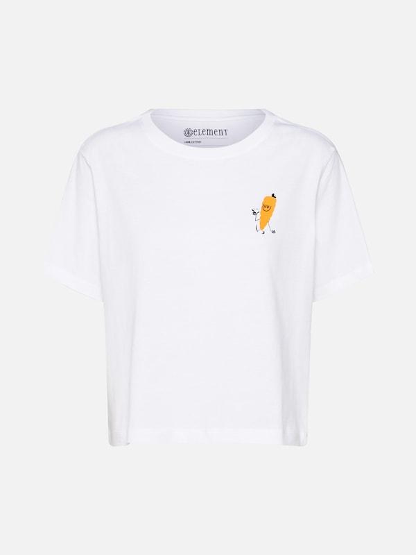 T En Element shirt T Element Blanc qwUZYv