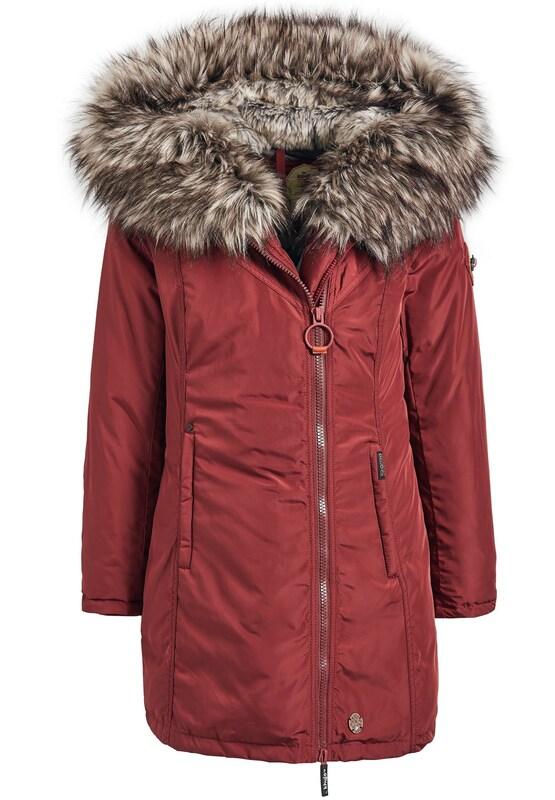 5b8b97d31385f khujo Kurtka zimowa 'ADELIA' w kolorze czerwonym   ABOUT YOU