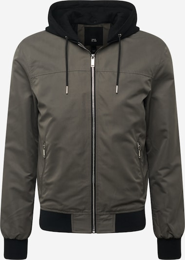 River Island Jacke in dunkelgrau / graumeliert, Produktansicht