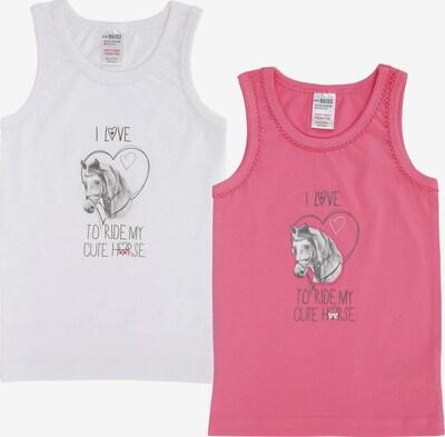JACKY Unterhemd in anthrazit / rosa / weiß, Produktansicht
