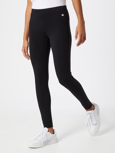 Champion Authentic Athletic Apparel Leggings in schwarz, Modelansicht