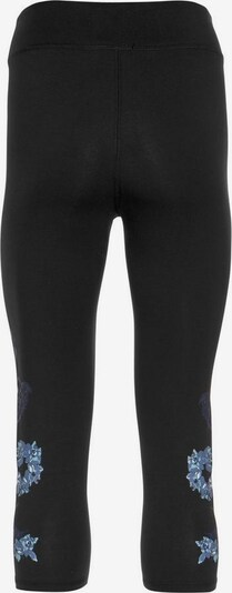 KangaROOS Leggings in aqua / hellblau / schwarz, Produktansicht