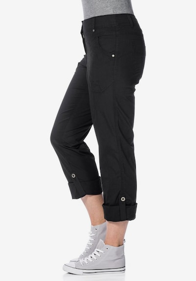 SHEEGO Cargohose in schwarz, Modelansicht