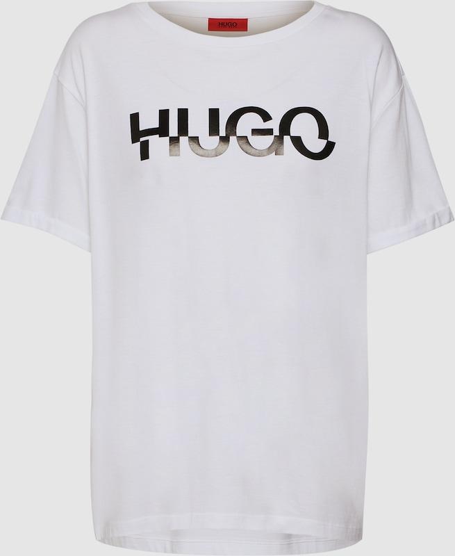 HUGO Shirt 'Denalisa_4' in weiß  Neuer Aktionsrabatt