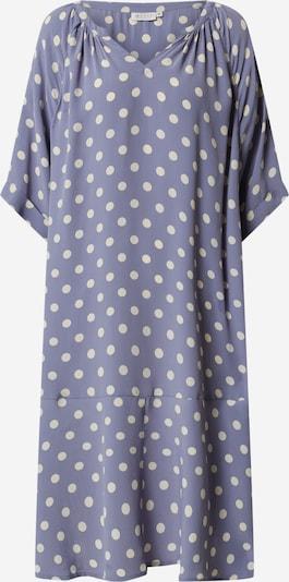 Masai Jurk 'Nebis' in de kleur Violetblauw / Wit, Productweergave