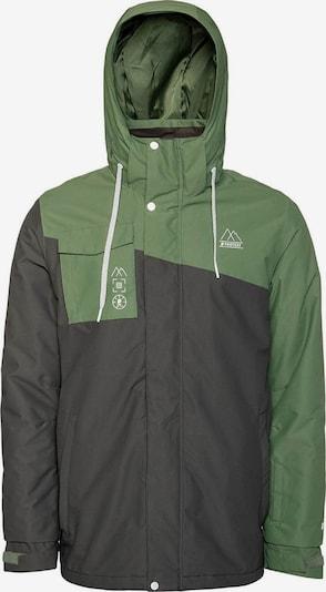 PROTEST Jacke 'Friston' in grün / dunkelgrün, Produktansicht