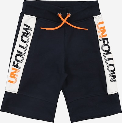 STACCATO Sweatshorts in nachtblau / orange / weiß, Produktansicht