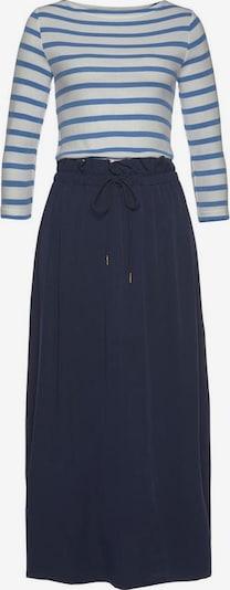 Tom Tailor Polo Team Kleid in navy / offwhite, Produktansicht