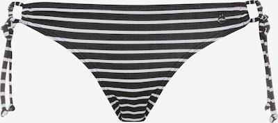 s.Oliver Bikinihose in schwarz / weiß, Produktansicht