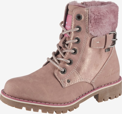 TOM TAILOR Winterstiefel in rosa, Produktansicht