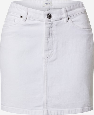 ONLY Jeansrock 'ONLROSE' in white denim, Produktansicht