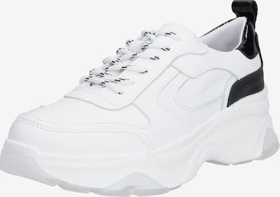 Sneaker low PS Poelman pe negru / alb, Vizualizare produs