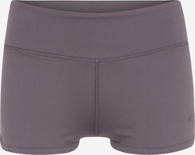 CURARE Yogawear Sporthose in grau / beere, Produktansicht