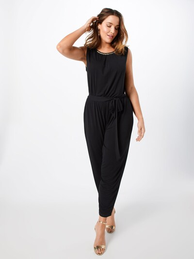 ABOUT YOU Curvy Overall 'Maxie' in schwarz, Modelansicht
