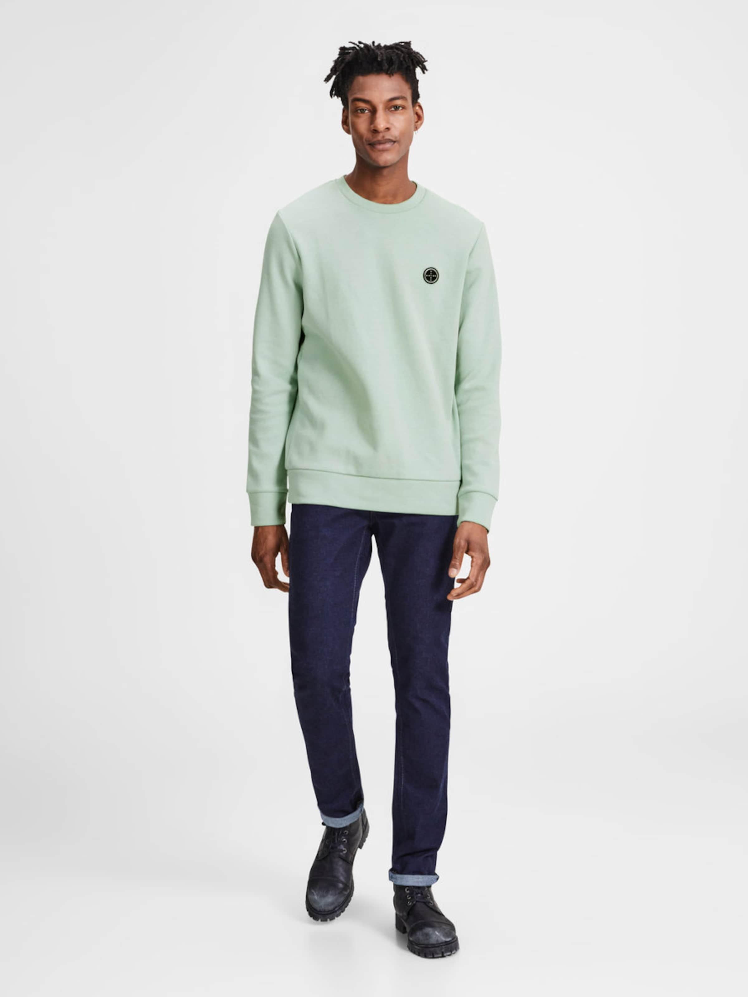 JACK & JONES Lässiges Sweatshirt Spielraum Offizielle Seite Auslass Eastbay Billige Footaction Verkauf Gut Verkaufen Angebote DoKoDRSRF