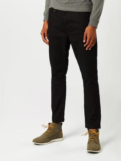 BURTON MENSWEAR LONDON (Big & Tall) Jeansy w kolorze czarnym: Widok z przodu