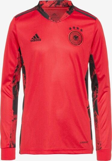 ADIDAS PERFORMANCE Torwarttrikot 'EM 2020 DFB' in rot / schwarz, Produktansicht