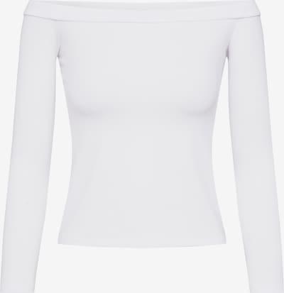 NA-KD T-shirt 'NA-KD x Pamela Reif' en blanc, Vue avec produit