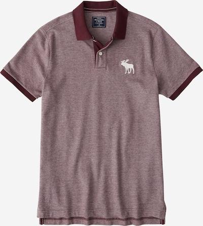Abercrombie & Fitch Poloshirt ' BTS19-SS EXPLODED' in burgunder, Produktansicht
