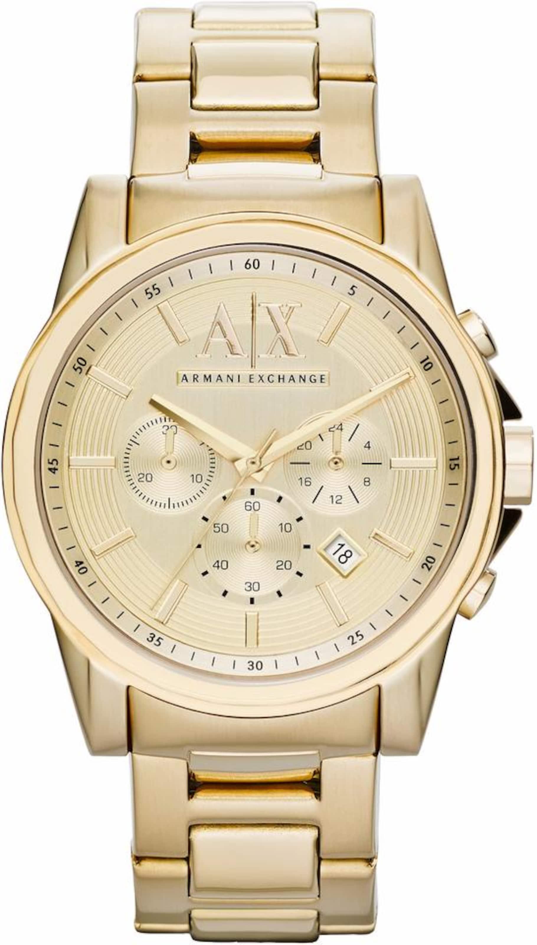 ARMANI EXCHANGE Chronograph »AX2099« Sauber Und Klassisch Spielraum Neue Stile Rabatt-Shop Für Countdown-Paket Günstig Online Spielraum Online Ebay N349rUEyk